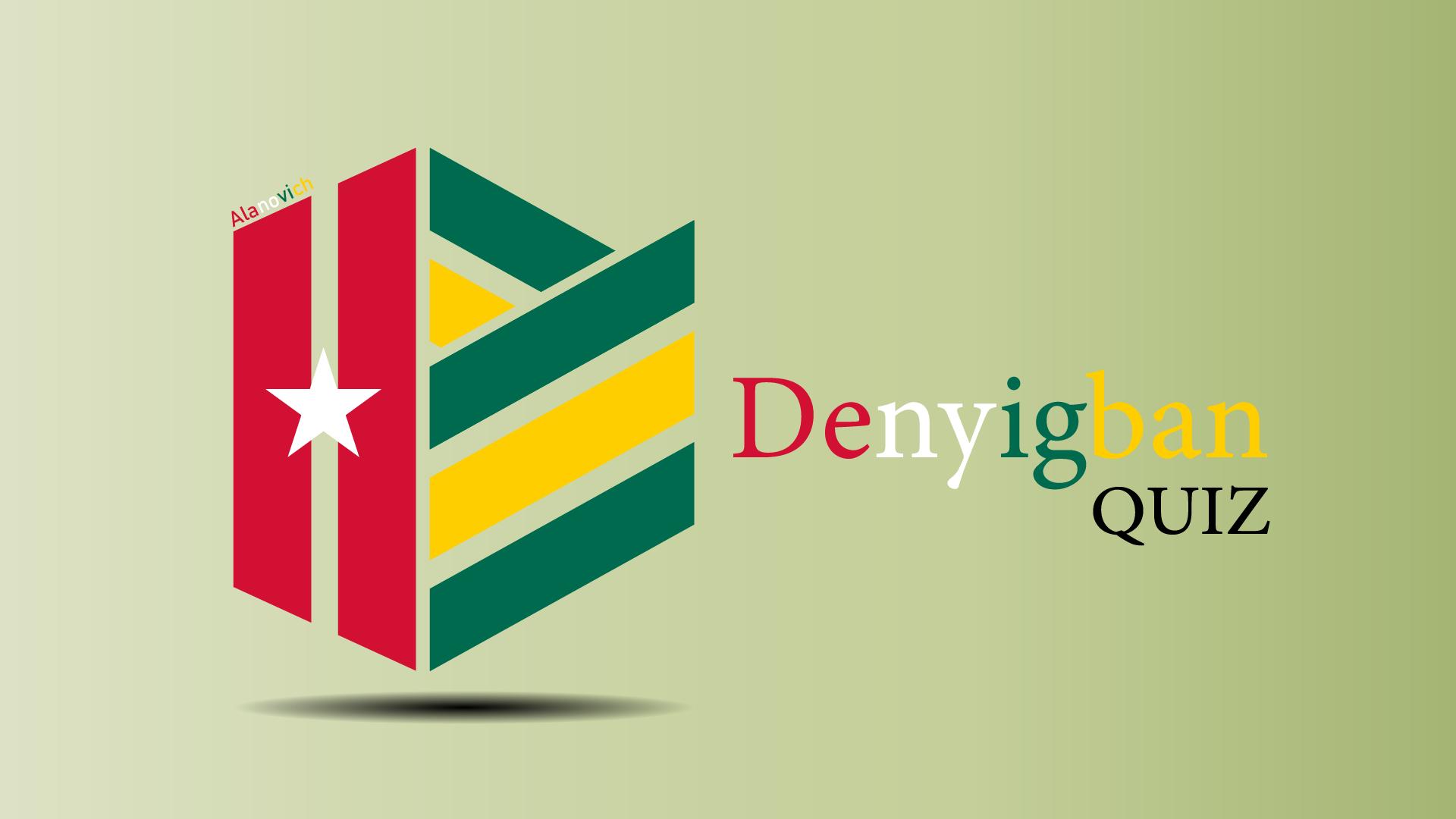 Logo de l'application DenyigbanQUiz